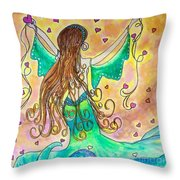 Love From The Sea Throw Pillow