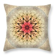 Love From Within Mandala Throw Pillow