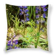 Love Garden Throw Pillow