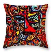 Love Goddess Throw Pillow