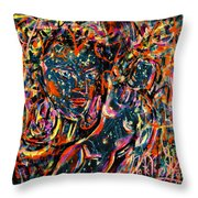 Love Graffiti Throw Pillow