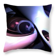 Love Grooves Abstract Throw Pillow