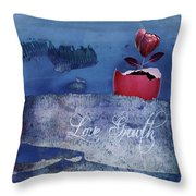 Love Growth - V2t2c3b Throw Pillow