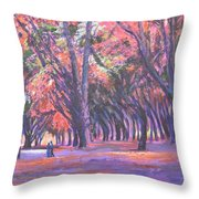 Love In Lal Bagh 1 Throw Pillow