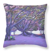 Love In Lal Bagh 4 Throw Pillow
