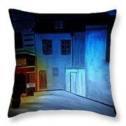 Love In San Fele Throw Pillow