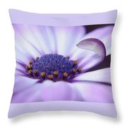 Love Is A Flare In Your Petal  Throw Pillow