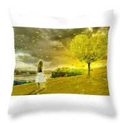 Love Is All Around Us And So The Feeling Grows Throw Pillow