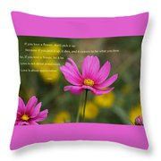 Love Is Appreciation Throw Pillow
