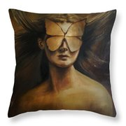 Love Is Blindness.  Throw Pillow