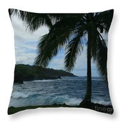 Love Is Eternal - Poponi Maui Hawaii Throw Pillow