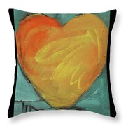 Love Is Just A Word Throw Pillow