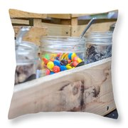 Love Is Sweet 2 Throw Pillow