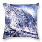 Love Is The Seventh Wave Throw Pillow