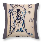Love Is Waiting With Bells On Throw Pillow