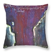 Love Like A Riot Throw Pillow
