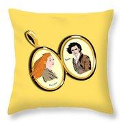 Love Locket Throw Pillow