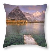 Love Lofoten Throw Pillow