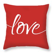 Love More - Part 1 Throw Pillow