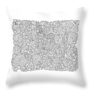 Love New York Full Page Throw Pillow