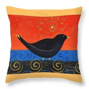 Love Of Birds Throw Pillow