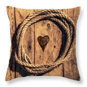 Love Of The Sea  Throw Pillow