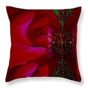 Love On My Wall Throw Pillow