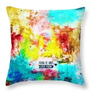 Love Poem Throw Pillow