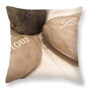 Love Rock Throw Pillow