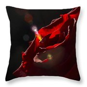 Love Rose Throw Pillow