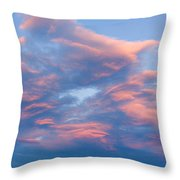 Love Shack Sunset Throw Pillow