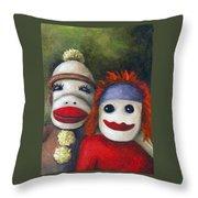 Love Socks Throw Pillow