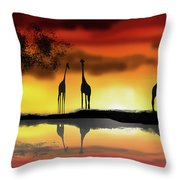 Love Someone Else Throw Pillow