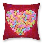 Love Songs 3 Throw Pillow