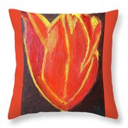 Love Starts With A Feeling Throw Pillow