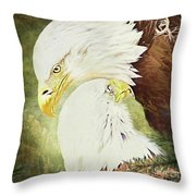 Love Story 4 Throw Pillow