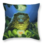 Love, Strength, Wisdom Throw Pillow
