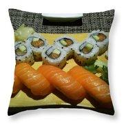 Love Sushi Throw Pillow