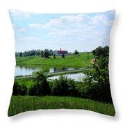 Love That Barn Throw Pillow