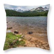 Love The Colorado Rocky Mountains Throw Pillow