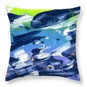 Love Those Diagonals - Purple 2 Throw Pillow