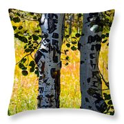 Love Trees Throw Pillow
