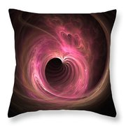 Love Tunnel Throw Pillow