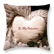 Love Victorian Style 2 Throw Pillow