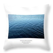 Love What Is Simple Throw Pillow