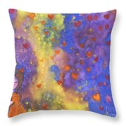 Love Will Find You Throw Pillow
