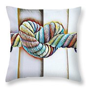 Love Wins/galle Throw Pillow