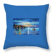 Love With The Sea Throw Pillow