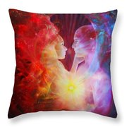 Love Written In The Stars Throw Pillow