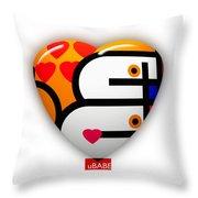 Love You Babe Throw Pillow